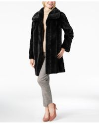 Jones New York - Faux-fur Coat - Lyst