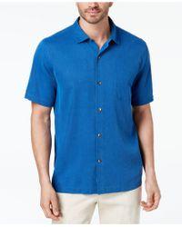 Tommy Bahama - Coastal San Clemente Silk Shirt, Created For Macy's - Lyst
