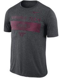 Nike - Virginia Tech Hokies Legends Lift T-shirt - Lyst