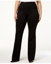 INC International Concepts - High-waist Boot-cut Pants - Lyst