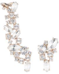 Marchesa - Crystal Mismatch Earrings - Lyst