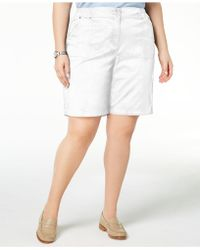 Karen Scott - Plus Size Shorts, Created For Macy's - Lyst