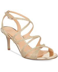 Badgley Mischka - Tasha Evening Sandals - Lyst