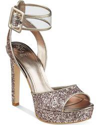Guess | Women's Catana Platform Dress Sandals | Lyst