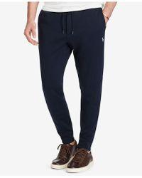Polo Ralph Lauren - Men's Double-knit Joggers - Lyst