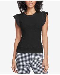 RACHEL Rachel Roy - Tie-back T-shirt, Created For Macy's - Lyst