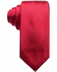 Alfani - Satin Solid Slim Silk Tie, Created For Macy's - Lyst