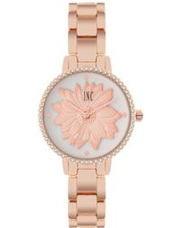 INC International Concepts - Rose Gold-tone Bracelet Watch 32mm, Created For Macy's - Lyst