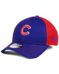 9d4827ce867 Lyst - KTZ New York Giants Chase White Front Mesh 39thirty Cap in ...