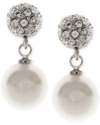 Givenchy - Pearl Fireball Drop Earrings - Lyst