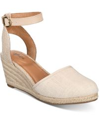 Style & Co. - Mailena Wedge Espadrille Sandals, Created For Macy's - Lyst