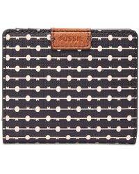 Fossil - Emma Bifold Mini Wallet - Lyst