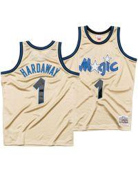 5bca619b913 Mitchell   Ness - Penny Hardaway Orlando Magic Gold Collection Swingman  Jersey - Lyst