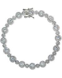 Giani Bernini - Cubic Zirconia Link Bracelet In Sterling Silver - Lyst