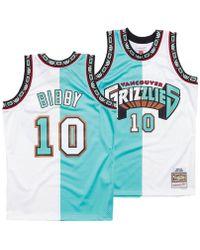 Mitchell   Ness - Mike Bibby Vancouver Grizzlies Split Swingman Jersey -  Lyst c991b8683
