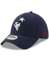 64a02f87dfa KTZ - New England Patriots Logo Elements Collection 39thirty Cap - Lyst