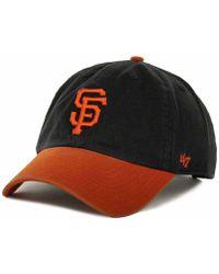 best website 2e200 00d0c 47 Brand - San Francisco Giants Clean Up Hat - Lyst