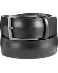 Original Penguin - Men's Convex Leather Belt - Lyst