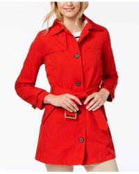 Barbour   Thornhill Belted Trench Coat   Lyst