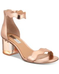 INC International Concepts - I.n.c. Hadwin Scallop Two-piece Sandals, Created For Macy's - Lyst
