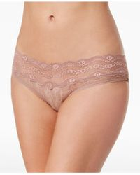 a37661643ac7 B.tempt'd - By Wacoal Lace Kiss Hipster 978282 - Lyst