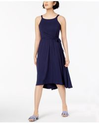 Maison Jules - High-low Fit & Flare Dress, Created For Macy's - Lyst