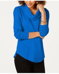 Style & Co. - Cowl-neck Thermal, Created For Macy's - Lyst