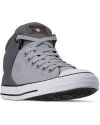 b55bd1eddf88 Lyst - Converse Men s Chuck Taylor All Star Ii High Casual Sneakers ...