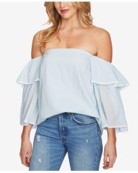1.STATE - Bell-sleeve Off-the-shoulder Top - Lyst