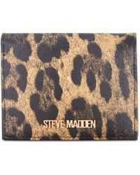 Steve Madden Sammi Bifold Wallet - Metallic