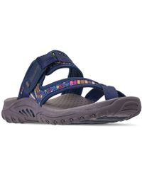 5c5636af4d9 Lyst - Skechers Reggae - Jammin Sport Sandals From Finish Line in Brown