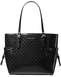Michael Kors - Michael Signature Glossy Voyager East West Tote, Created For Macy's - Lyst