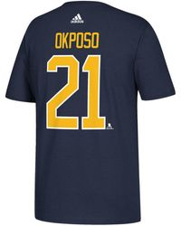 adidas - Kyle Okposo Buffalo Sabres Silver Player T-shirt - Lyst