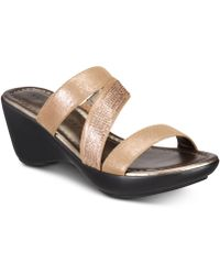 Karen Scott - Paulah Wedge Sandals, Created For Macy's - Lyst