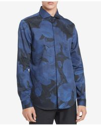Calvin Klein | Men's Printed Shirt | Lyst