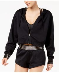 PUMA - Fusion Drycell Cropped Hooded Jacket - Lyst