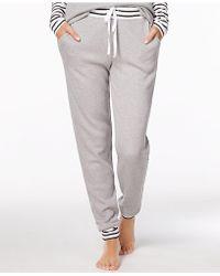 Alfani   Striped-trim Thermal Pajama Pants, Created For Macy's   Lyst
