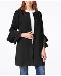 Alfani - Petite Ruffled-sleeve Jacket, Created For Macy's - Lyst