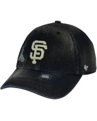 uk availability 3543b f9ad9 47 Brand - San Francisco Giants Dark Horse Clean Up Cap - Lyst