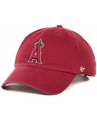 Lyst - KTZ  47 Brand Los Angeles Angels Of Anaheim Stillwater Clean ... a60ad0996ae7