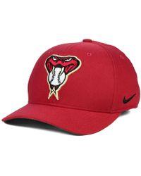 3e0409a8cd1 Lyst - Nike Arizona Diamondbacks Featherlite Cap in Black for Men