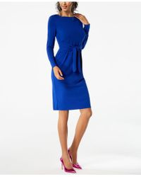 INC International Concepts - Petite Tie-waist Dress, Created For Macy's - Lyst