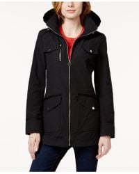 INC International Concepts - Hooded Tie-back Anorak Jacket, Only At Macy's - Lyst