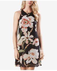 Karen Kane - Sheer Floral-print Dress - Lyst