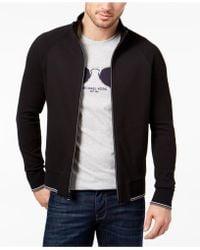 Michael Kors - Textured Block Track Jacket - Lyst