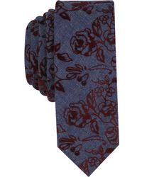 Original Penguin - Men's Polke Floral Skinny Tie - Lyst