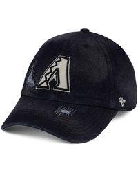 47 Brand - Arizona Diamondbacks Dark Horse Clean Up Cap - Lyst