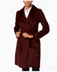 T Tahari | Wrap Coat | Lyst