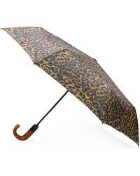 Patricia Nash Leopard Magliano Umbrella - Multicolour
