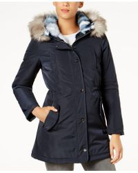 Laundry by Shelli Segal - Faux-fur-lined Coat - Lyst